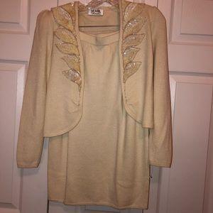 St. John jacket and skirt set size 4